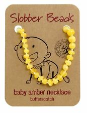 BUTTERSCOTCH BALTIC AMBER BABY , BABY AMBER NECKLACE