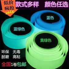 Glow in the Dark Adhesive Strip Vinyl Neon Tape available multiple Christmas dec