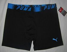 "NWT Mens PUMA 6"" Microfiber Sport Stretch Boxer Brief Underwear - size M or L"