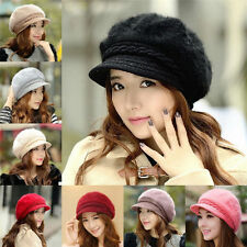 Fashion Women Winter Warm Knit Crochet Slouch Baggy Beanie Hat Ski Cap Beret
