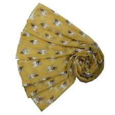 French Bulldog Bull dog Print Large Scarf Wrap Choice of Colours BNWT