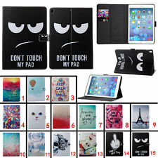 Gift Luxury Wallet Leather PU Case Flip Cover Kickstand For Apple iPad Tablet