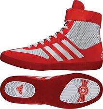 Adidas Combat Speed 5 Red Wrestling or Boxing Shoes