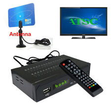 1080P Digital Clear Cable ATSC TV Tuner HDTV Receiver Analog Antenna Convertor