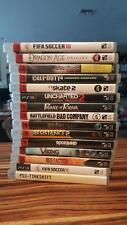 Assortment of 15 different PS3 games: Call of Duty; FIFA; Battlefield; Uncharted