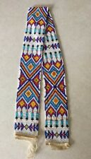 Vintage SOUTHWESTERN Design Handmade Beaded Hatband HAT BAND-(BAND ONLY-NO HAT)