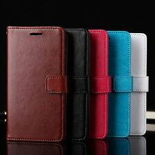 Fashion Flip Wallet Slot Faux Leather Case Cover for iPhone 7 Samsung S7 Finest