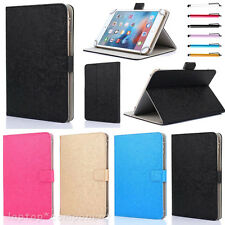 "2017 For 7"" 7 Inch Tablets PC MID Universal Leather Stand Case Cover Solid-Color"