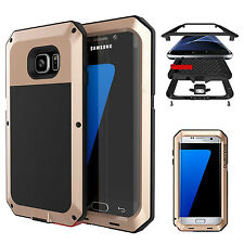 Metal Armor Shockproof Aluminum Bumper Case Cover for iPhone & Samsung Galaxy