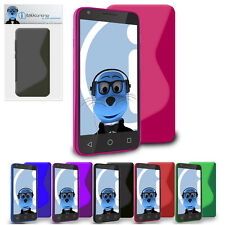 TPU S Line Wave Hybrid Gel Case Protective Cover For Blackberry 9320 Curve