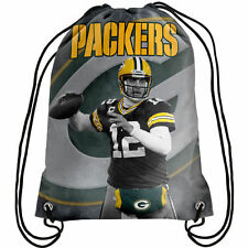 NFL Green Bay Packers Aaron Rodgers Player Printed Drawstring Backpack