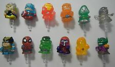 Marvel Comics 2 Cell Phone Charm Dust Plug Smartphone Thor Ironman Wolverine