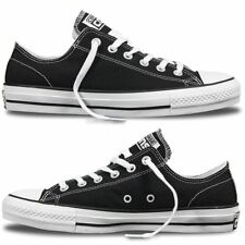 CONVERSE CTAS PRO OX LOW BLACK WHITE MENS CANVAS SKATEBOARD SHOES SNEAKERS