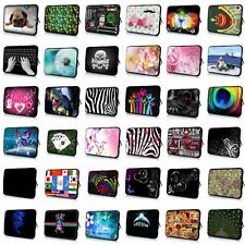 """Cool 9""""10 Inch 10.1"""" Sleeve Case Bag Soft Cover For Netbook Ipad Tablet Laptop"""