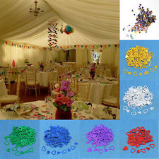 Wedding Heart Table Confetti Foil Decorations Birthday Valentines Party 7 Colors