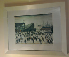 "L.S. Lowry Print Framed ""Going To The Match"" 1958"