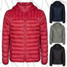 Women's Quilted Padded Hooded Puffer Bubble Ladies Collar Warm Thick Jacket Coat