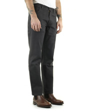Wrangler Texas Stretch Regular Fit Mens Twill Pant - Navy Grey