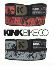 Kink BMX Bike Co. Web Belt BMX Belt (Grey or Red) Kink Bikes