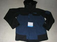 Columbia Reversal Ridge Parka for Men Blue Black Sz S/L- NWT $250