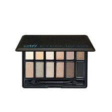 12 Color Matte Shimmer Eyeshadow Makeup Palette Set with Cosmetic Applicator