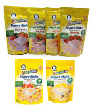 Gerber Graduates Yogurt Melts Fruit & Veggie (Mix and Match any 3 Flavors) 3 oz.