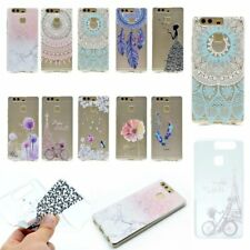 ULTRA THIN FASHION Soft Rubber Back TPU Rugged GEL Case Cover For HUAWEI Phones
