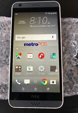 HTC-2PST2-DESIRE 530-(4G)-WHITE-METRO PCS ANDROID PHONE-GREAT SHAPE-Clear ESN!
