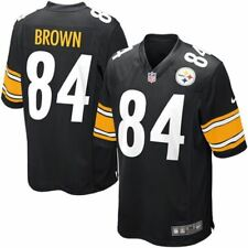 Pittsburgh Steelers Jersey Antonio Brown #84 Nike Youth Game Replica NFL Black