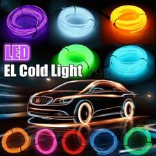 Flexible Neon LED Light Glow EL Wire String Strip Rope Tube Car Christmas Party