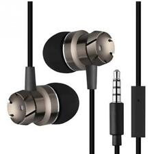 3.5mm Jack Noise Isolation Headphone In-ear Earphone With mic for Phone MP3 MP4