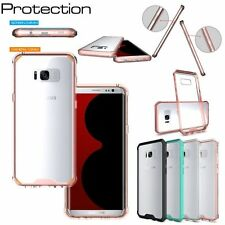 Protective Shockproof Hybrid Rubber TPU Hard Cover Skin For Samsung Galaxy Phone