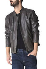 GAS TYROS/8 2909 Long-sleeved leather jacket
