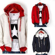 Hot Men's Casual Fashion Slim Fit Sexy Designed Hoodies Sweats Jackets Coats 36