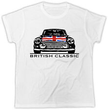 Mini T-Shirt British Classic Car Funny Novelty Ideal Gift Racing Unisex Tshirt