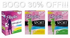 Playtex Unscented Tampons, Sport / Gentle Glide 360, Regular / Super, 18 ct