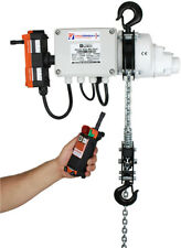 Radio Controlled 250kg 1 Phase 240v Electric Lifting Chain Hoist 3-40mtr Lift