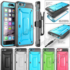 iPhone 6 7 8 Plus Case Cover Rugged Swivel Belt Clip Holster + Screen Protector