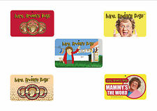 NEW Mrs Browns Boys Door Room Signs Gift Card FREE Postage