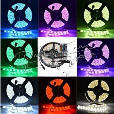 5M 5050 RGB LED Flexible Light Strips 150LEDs/300LEDs Lights 44Key POWER Supply