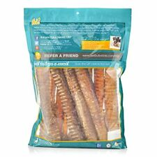 NEW 100% Natural 12 Inch Beef Trachea Dog Chews by Best Bully Sticks 12 Pack