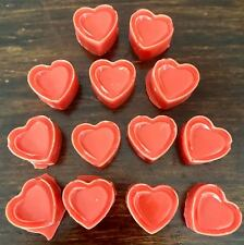 15 Pack Super Strong Scented Wax Melts Heart Shaped Tart Melts~ BAKERY SCENTS