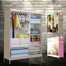 Clothes Storage Portable Wardrobe Closet Canvas Wardrobe Armoires Home Furniture