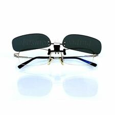 Polarized Clip On Myopia Glasses Flip Up Sport Safety Protection Sunglasses 776