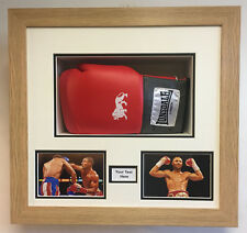 Boxing Glove Frame Case For Signed Boxing Gloves with choice of frame colours