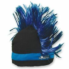 Mental Razor Blue Mohawk Ski Snowboard Fleece Crazy Cool Snow Cap Winter Hat