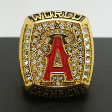 2002 Anaheim Angels World Series Championship Ring 11Size Solid Back