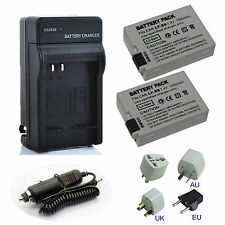 Canon LP-E8 Li-ion Battery Pack for EOS 550D 600D Kiss X4, Rebel T3i,T2i Charger