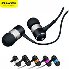 Awei ES-Q3 In-Ear Earphone Stereo Headphone Earbuds Super Bass Headset For Phone