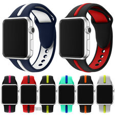 For Apple Watch Silicone Sport or Milanese Loop 38mm/42mm Strap Wristwatch Band